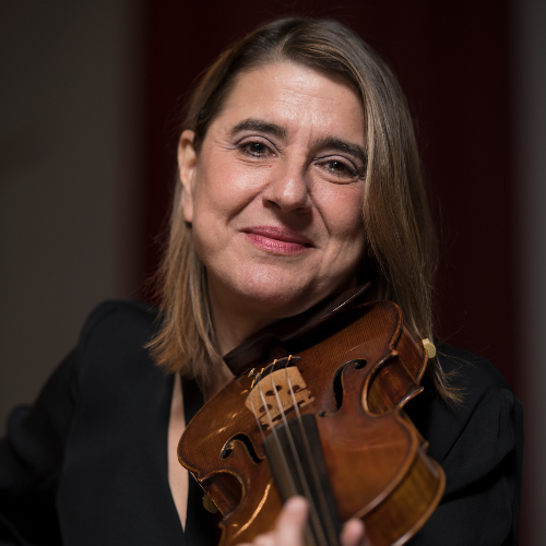 Nadja Salerno-Sonnenberg, violin