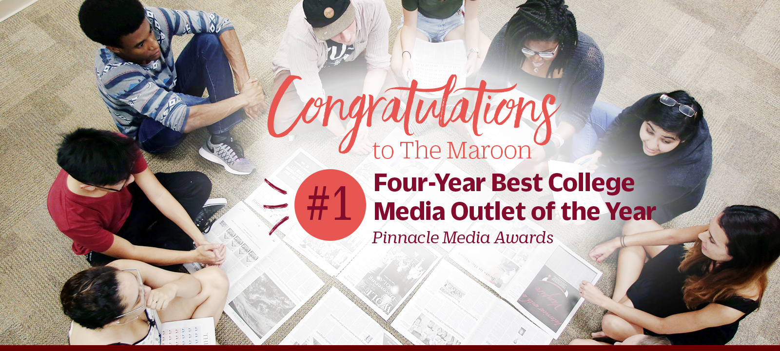 Loyola newspaper wins Best College News Outlet of the Year! Learn more