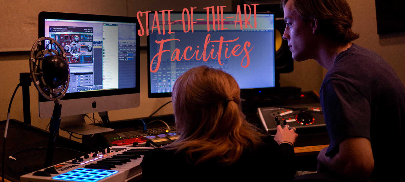 Students gain immediate access to Loyola's state-of-the-art studios and equipment