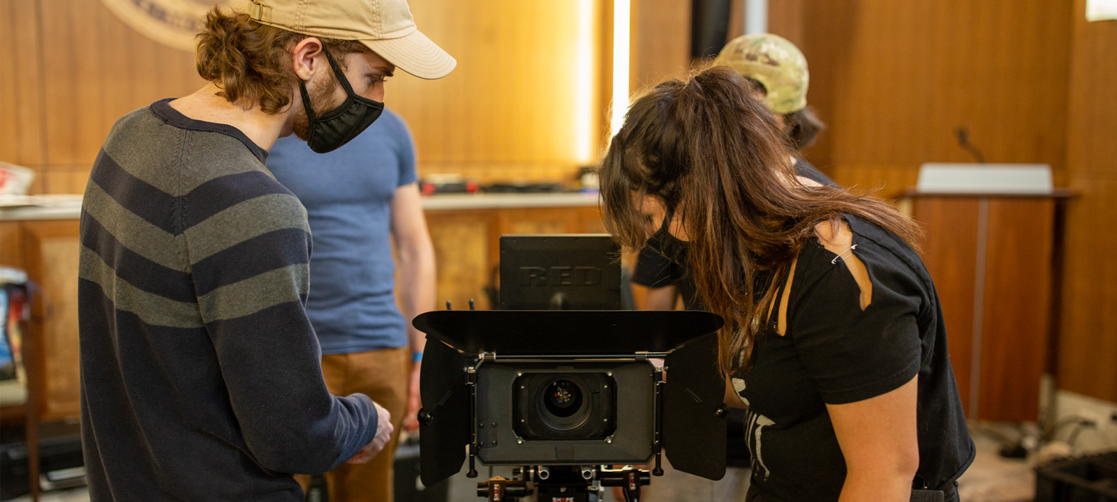 Our Digital Filmmaking program is planted in the heart of Hollywood South with major films working day and night both on and around our beautiful campus.