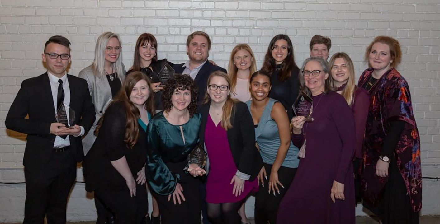 SMC students, faculty, alumni win at Flambeaux Awards