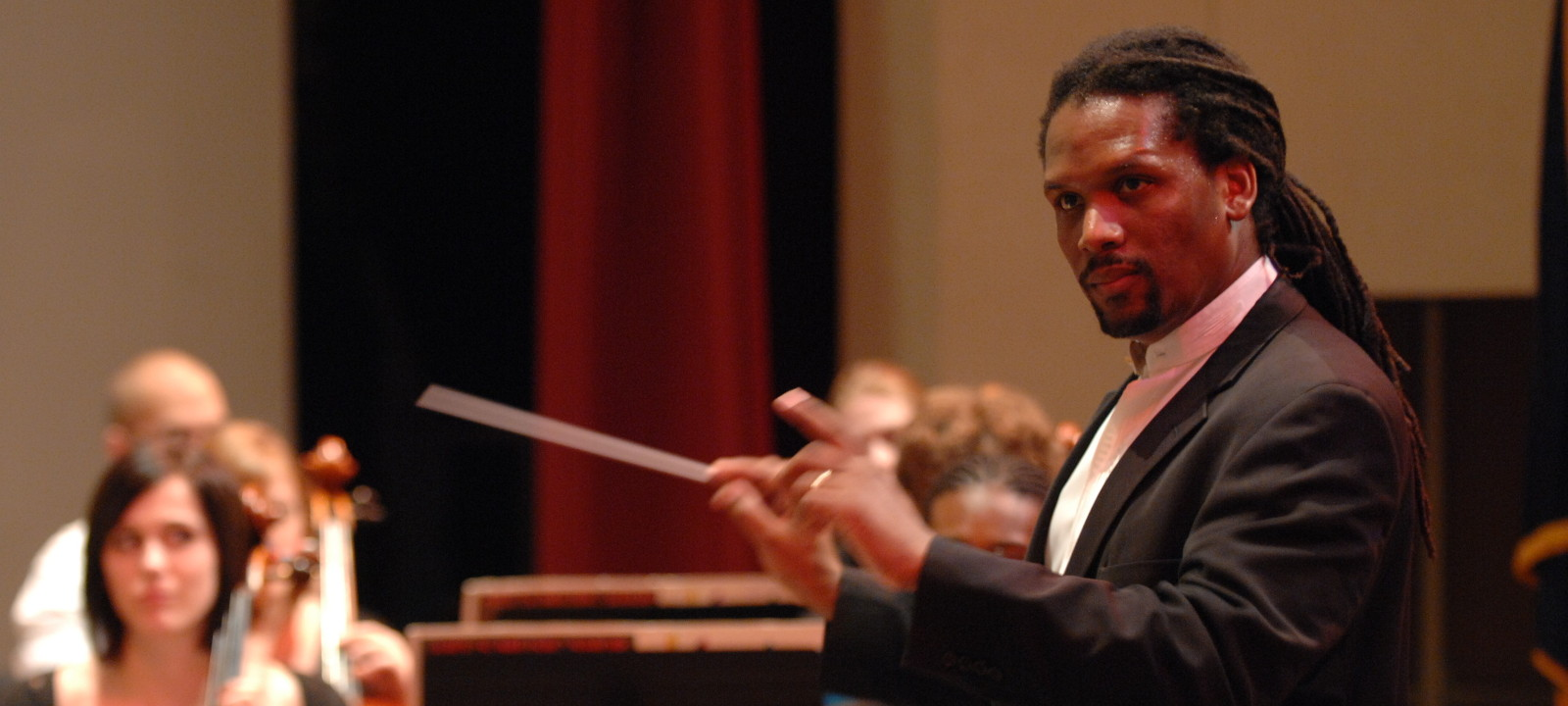 Congratulations Dr. Jean Montès, conductor of the NAfME All-National Symphony Orchestra!