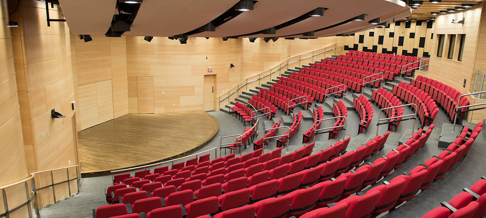 Loyola's Nunemaker Auditorium is the perfect location for lectures, film screenings and intimate concerts. Inquire today.