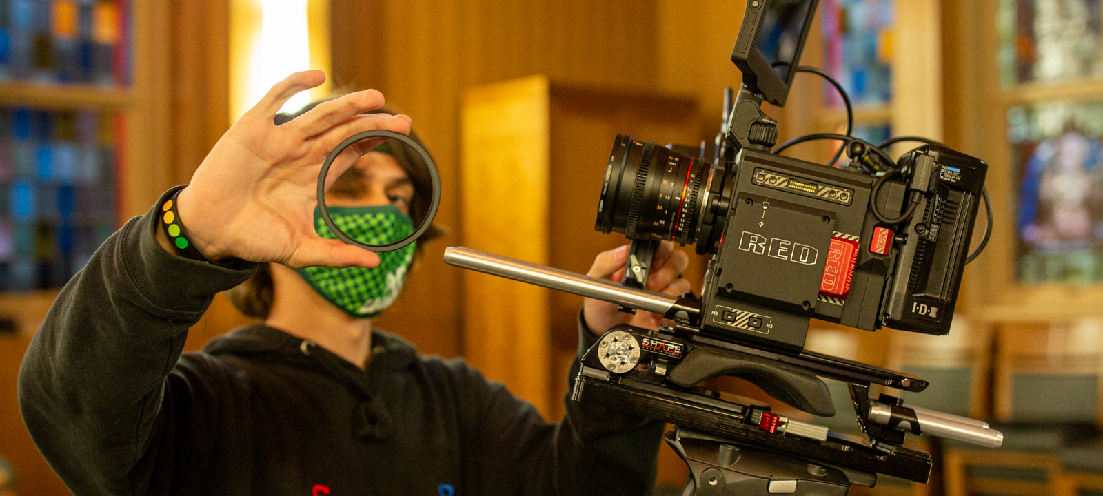 Work with some of the same equipment, software, and workflows used in major motion picture production.