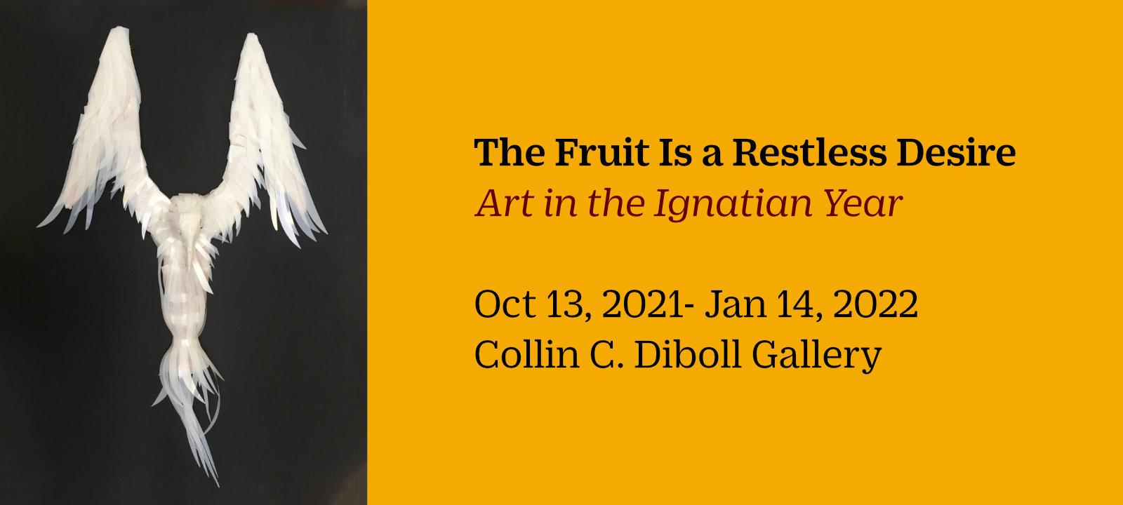 Exhibition runs October 13 - January 14, Diboll Gallery