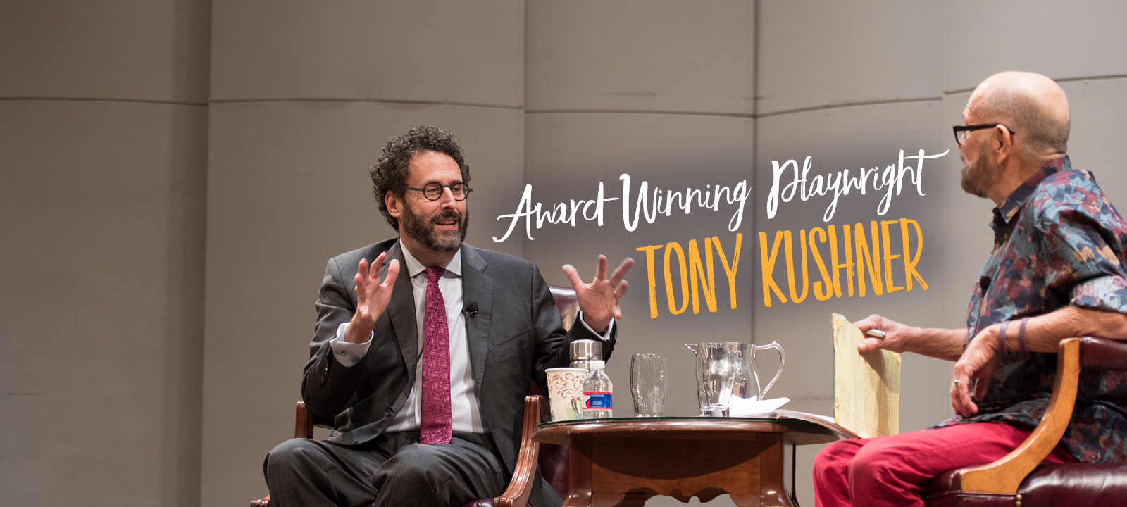 Loyola welcomed award-winning playwright Tony Kushner