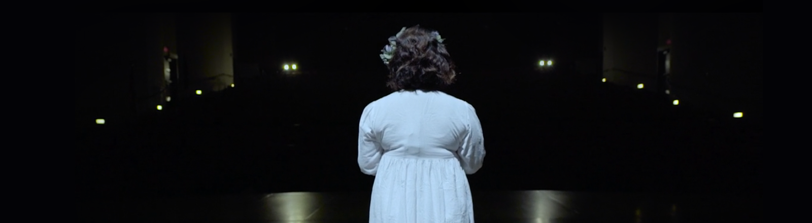 Still from student film Ophelia