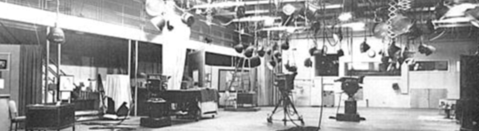 Vintage image of WWL TV Studio