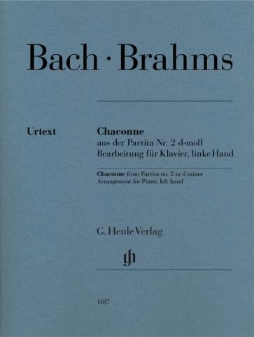 Chaconne from Partita no. 2 d minor (Johann Sebastian Bach), Arrangement for Piano, left Hand
