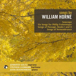 Songs by William Horne