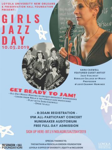 Girls Jazz Day