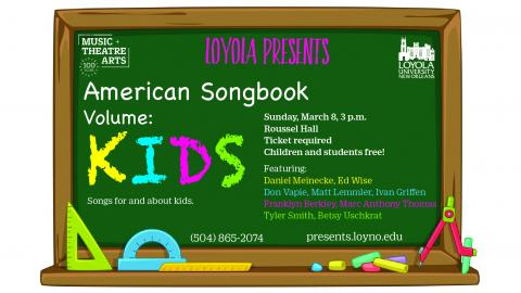 American Songbook Flyer