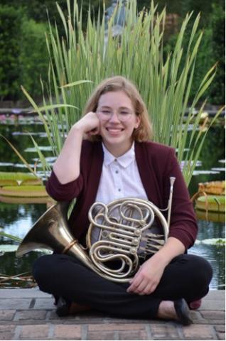 Renee Babin, horn