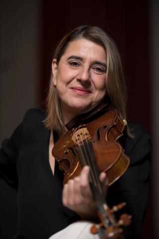 Nadja Solerno-Sonnenberg, violin