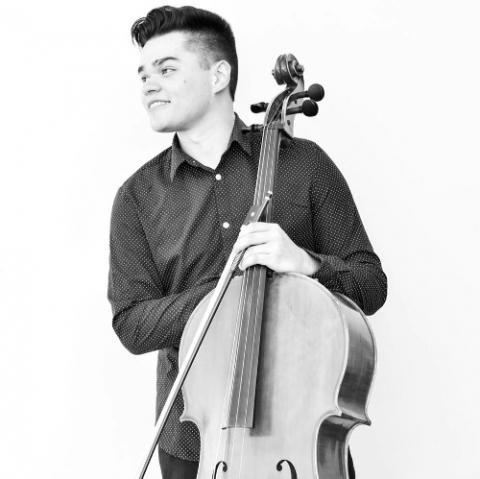 Josh Sierra-Delgado, cello