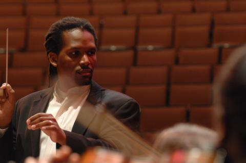 Dr. Jean Montès, Associate Professor of Music and Director of Orchestras
